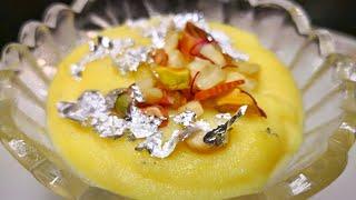 बिना चावल भिगोये मिनटों में बनाये यह ख़ास शाही फिरनी इस ईद पर   Delhi ki khaas Phirni recipe  