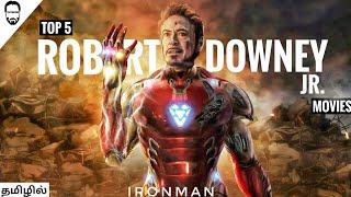 Top 5 Robert Downey Jr Movies in Tamil Dubbed   Best RDJ movies in tamil   Playtamildub