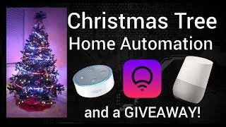 Automated Christmas Trees, Giveaways, and Star Wars!!