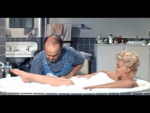 "Spot Marilyn Monroe's Naughty Bits In The Bath Scene - ""The 7 Year Itch"" censored 1955"