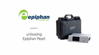 Unboxing Epiphan Pearl - Live Video Production,  Streaming & Recording Device