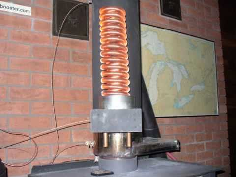 fireplace water heat exchanger.  Water Heating Coil for Woodstoves SAFE water heating YouTube