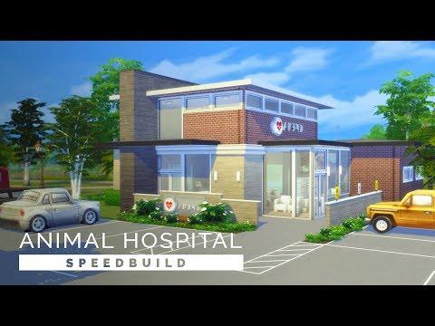 Sims 4  |  Speedbuild  |  Sable Animal Hospital