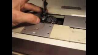 Настройка швейной машины Typical GC 20606-1