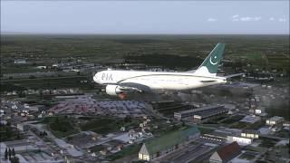 Plane Crash on Runway Bangkok PIA 777-200