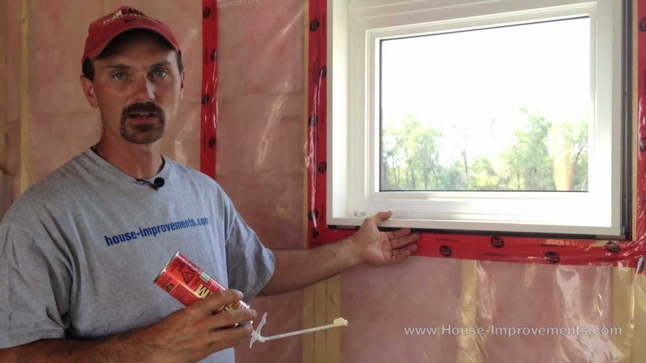 how to insulate a window or door youtube. Black Bedroom Furniture Sets. Home Design Ideas