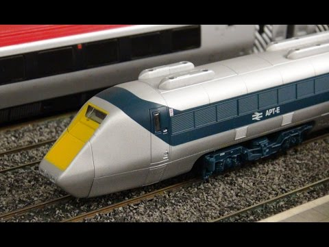 Timsvideochannel1 Model Railway - APT-E, Midland Pullman, LMS Garratt & more.