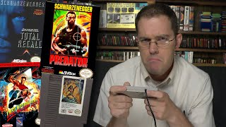 Schwarzenegger Games - Angry Video Game Nerd