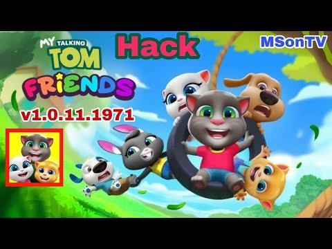 hack my talking tom phiên bản mới nhất - Hack game My Talking Tom Friends bản mới nhất v1.0.11.1971