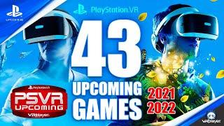 43 Upcoming PSVR Games 2021 - 2022, PlayStation VR SONY #PSVR