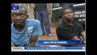 Security Agents Parade Suspected Ritualists With Dead Little Girl