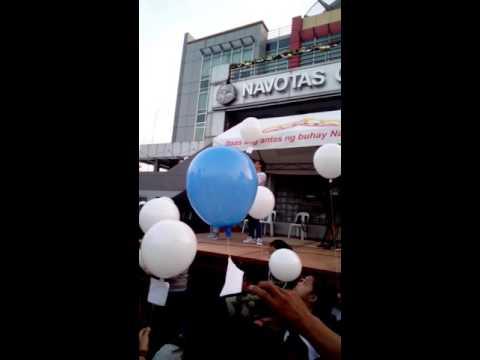 Balloon Festival in Navotas city Hall