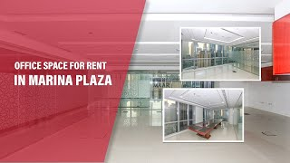 OFFICE SPACE FOR RENT IN MARINA PLAZA, DUBAI MARINA