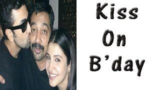 Anurag Kashyap Gets A Kiss On His Birthday - TOI