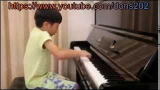 Talented Kid Playing Piano Like a Master