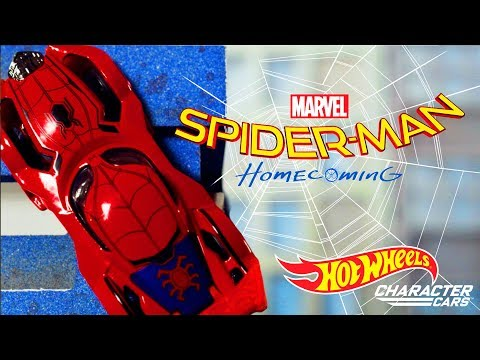 Spider-Man and Iron Man Team Up | Hot Wheels