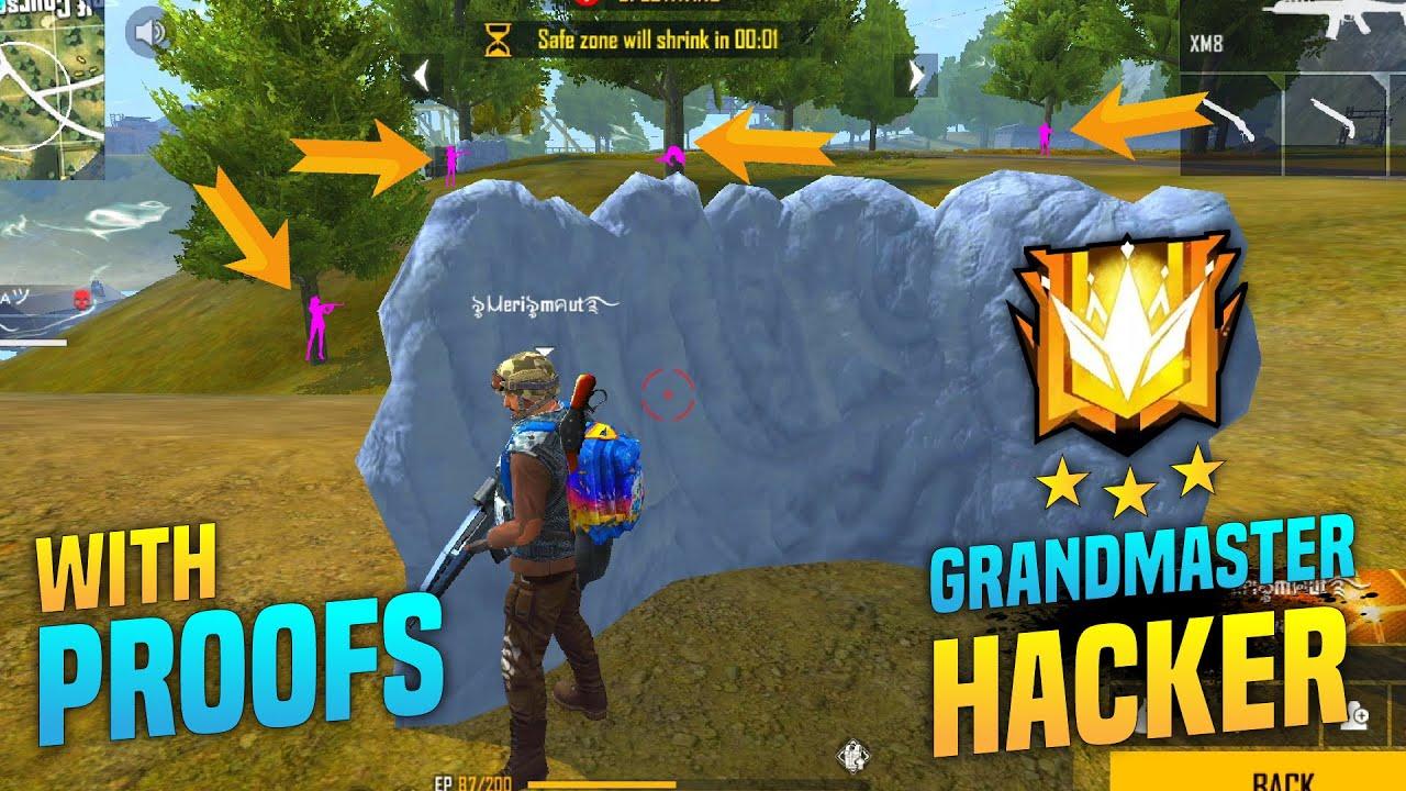*Must Watch* Grandmaster Headshot Hacker with 100% headshot rate In freefire with Proof   Pri gaming