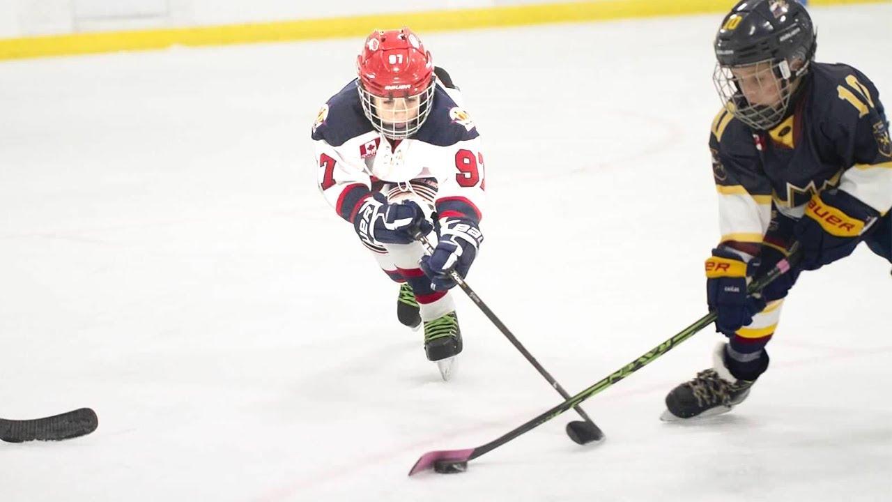 Kids Hockey Buffalo Regals Take On Burlington Eagles Super Close Game Youtube
