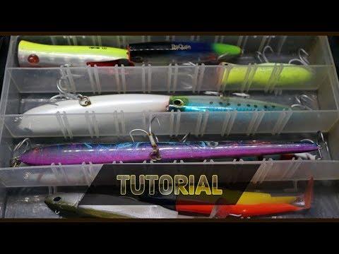 ClipAngler - sorpresa iniziale e tutorial borsa SPINNING MEDIO PESANTE - serra barracuda leccia