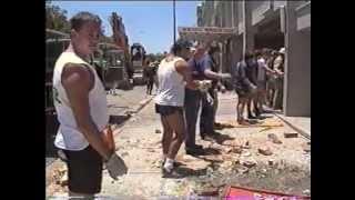 Newcastle Earthquake 1989 - NBN TV News Australia [file 3]