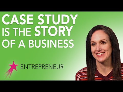 Entrepreneur: What is a Business Case Study -  Katherine Hays Career Girls Role Model