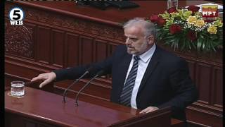 Талат Џафери: Собранието нема да го носам во Тирана, тоа ќе остане во Македонија