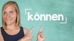 """German Lesson (64) - The Verb """"können"""" - Modal Verbs - A1/A2"""