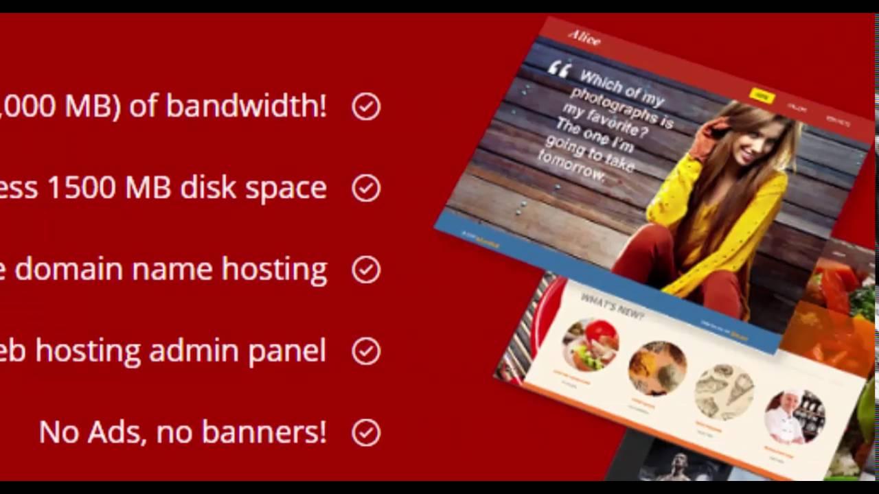 Free web hosting no banner - Best Free Web Hosting Service 2016