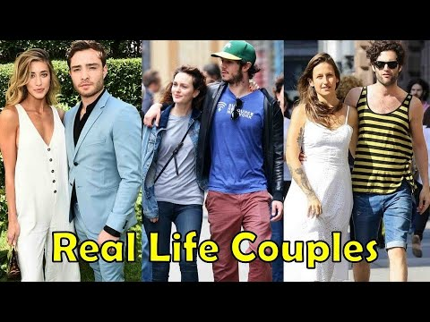 Real Life Couples of Gossip Girl