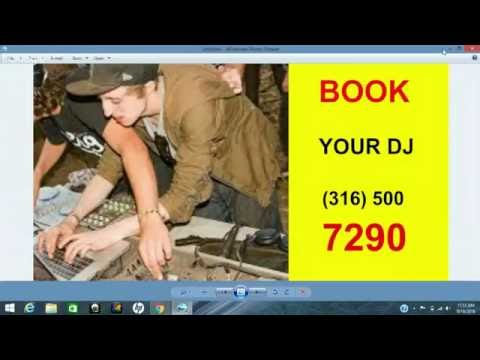 Best DJs FOR The PROM In WICHITA KS|316-500-7290|CALL US|TOP DJ FOR PROM IN WICHITA