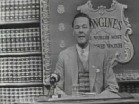 LONGINES CHRONOSCOPE [WITH SEN. HENRY CABOT LODGE, JR.], TELEVISION INTERVIEW: William Bradford ...