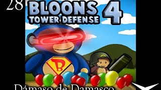 28-Una de monos y globos (Bloons Tower Defense 4) // Gameplay Español