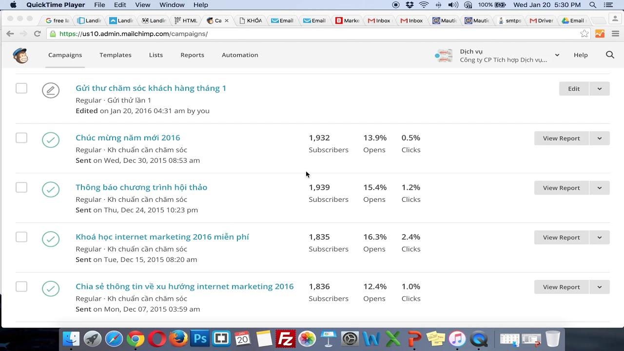 KH5-Marketing trong BĐS| Bài Giảng 43: Chú ý khi triển khai Email marketing