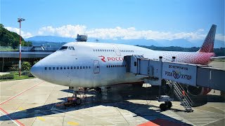 Полет на Boeing 747 из Москвы Авиакомпания Россия