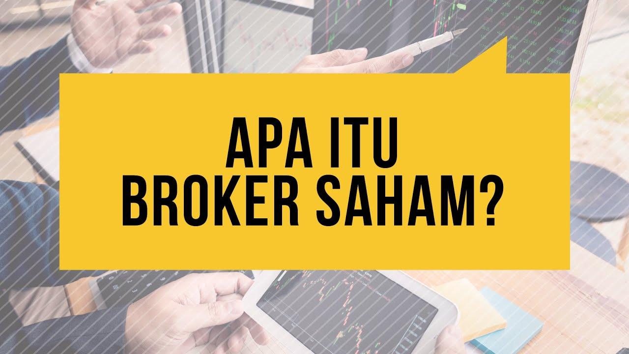 Apa itu Broker ndd