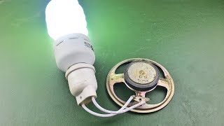 Forever Free Energy Running Device Using DC Motor With Speaker Magnet - Electricity Science Project