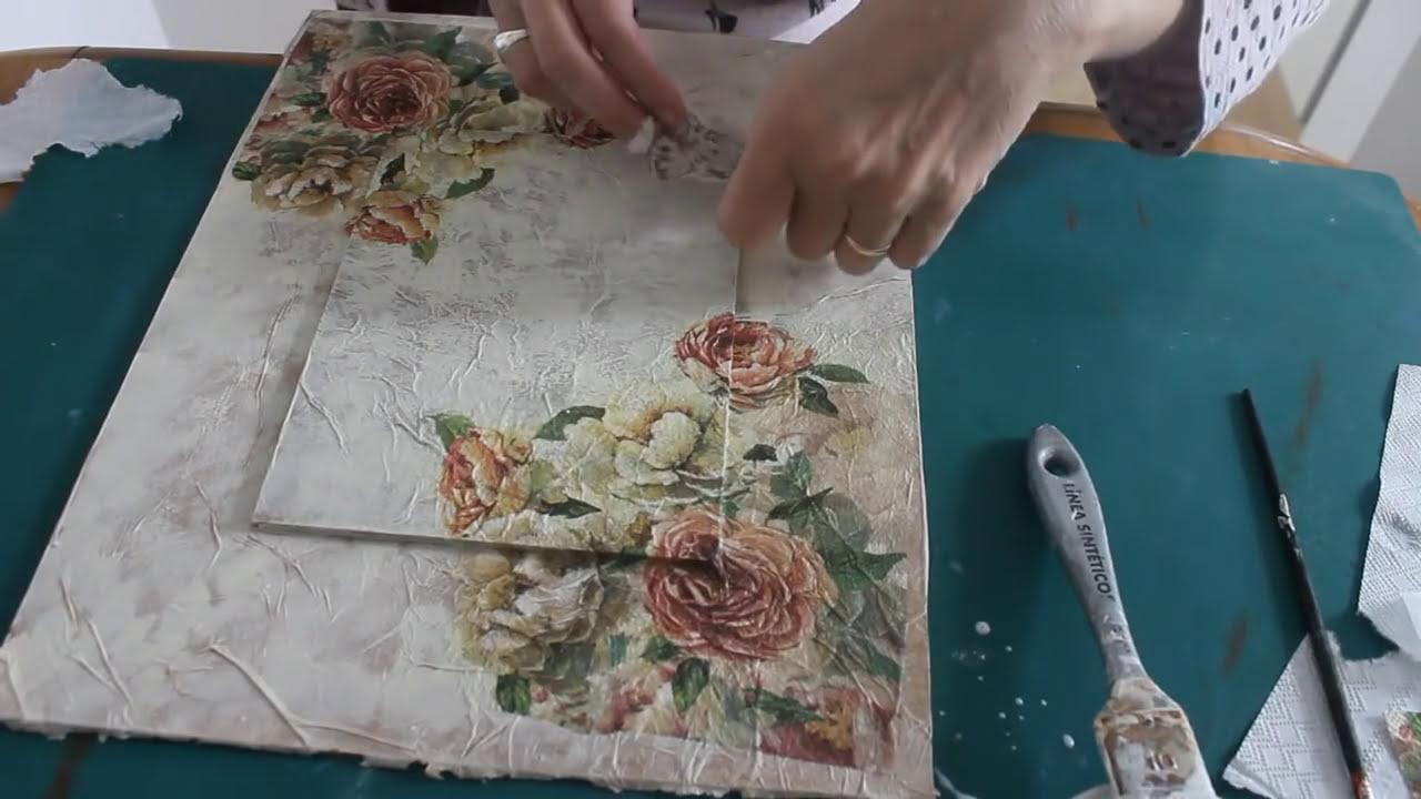 Cuadro con diferentes t cnicas decorativas i - Tecnicas decorativas ...