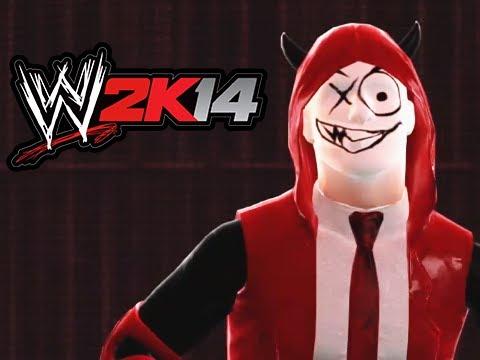 WWE 2K14 Lui vs Delirious vs Cartoonz (Triple Threat Extreme Rules)