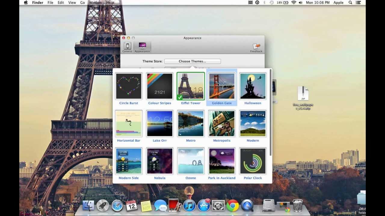 Live Wallpaper - Mac - Free download - YouTube