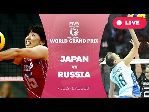 Japan v Russia - Group 1: 2017 FIVB Volleyball World Grand Prix