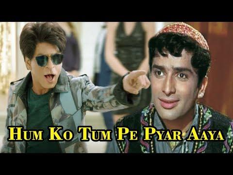 Shah Rukh Khan | Hum Ko Tum Pe Pyar Aaya | Shashi Kapoor Song In Zero Movie 2018.