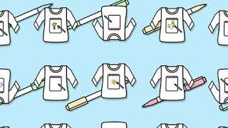[빈폴키즈] 모나미X빈폴키즈 티셔츠 DIY 키트 출시!