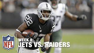 Taiwan Jones Breaks Multiple Tackles & Scores a TD! | Jets vs. Raiders | NFL