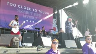 Miss Your Face Too Close To Touch Live Warped Tour Glendale AZ 6 22 17