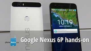 Google Nexus 6P hands-on: Huawei joins the Nexus club