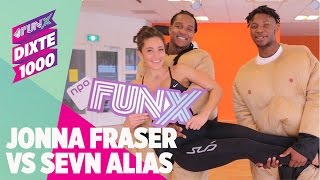 Jonna Fraser vs. Sevn Alias: Wie overleeft de bootcamp van Fajah Lourens? #DiXte1000