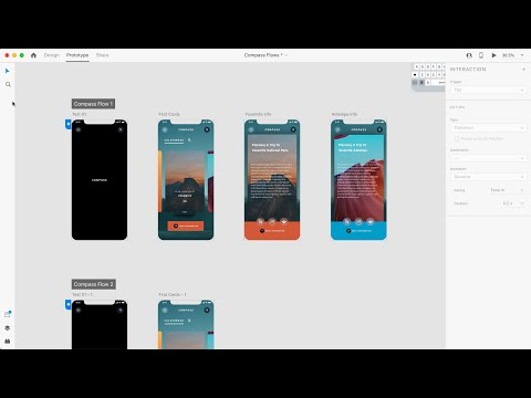 Multiple Flows   Adobe XD August Release 2020   Adobe Creative Cloud