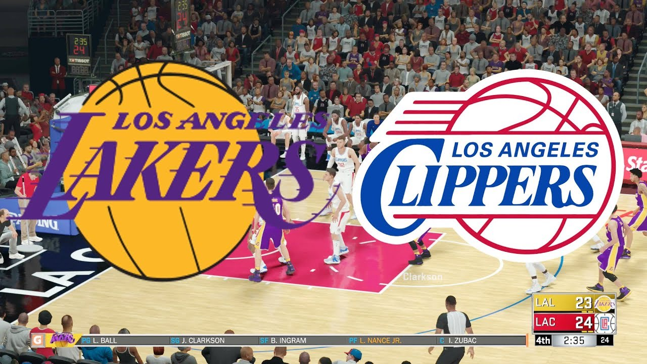 Image result for Los Angeles Lakers vs Los Angeles Clippers