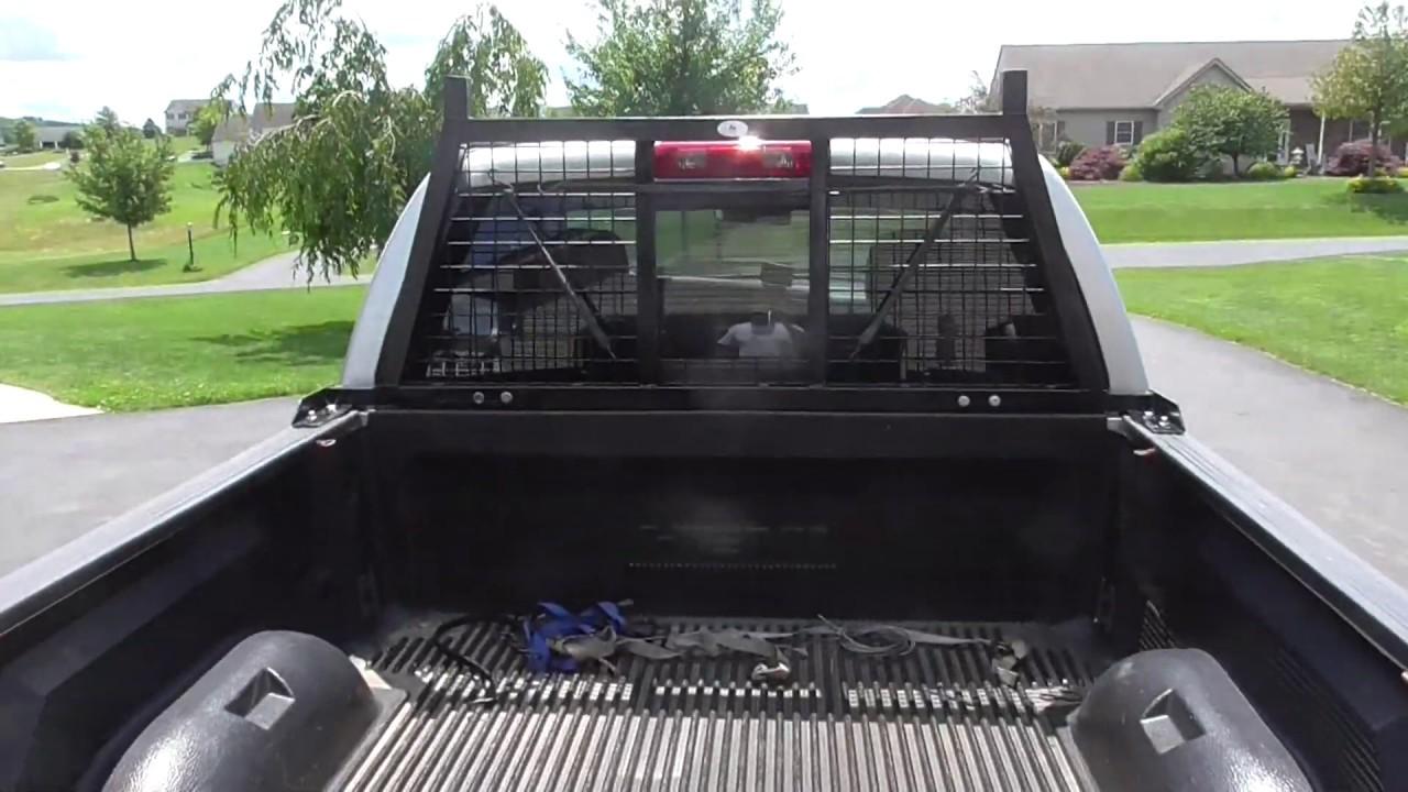 building a truck backrack or headache rack