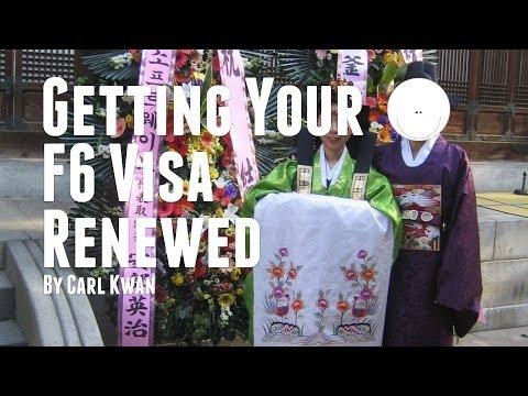 Seoul Immigration Office Korean F6 Visa Renewal